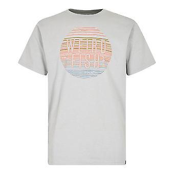 Weird Fish Men's Sunset Short Sleeve T-shirt Groen