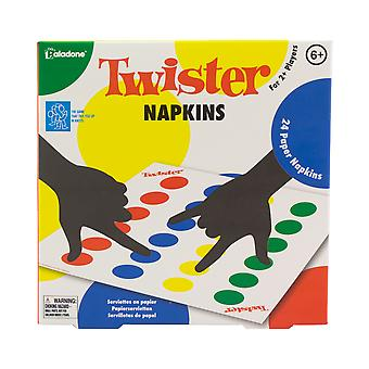 Twister Napkins Classic Novelty Party Jugando juego Spinner incluido
