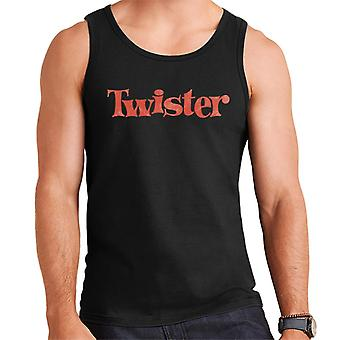 Twister Faded Red Logo Men-apos;s Vest