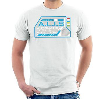 Crystal Maze Alis Auto lock Herre ' s T-skjorte
