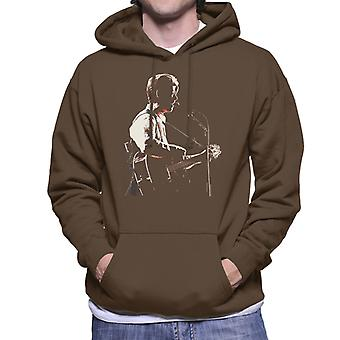 David Bowie At Birmingham NEC 1990 Men's Hooded Sweatshirt