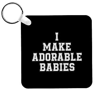Je fais adorables bébés porte-clés