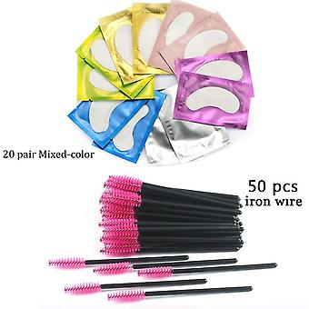 Disposable Eyebrow Brush Mascara Wand Applicator - Spoolers Eye Lashes Cosmetic Brushes Set