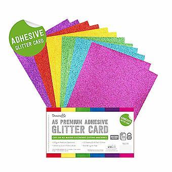 Dovecraft Lim Glitter Ark A5 Rainbow Lyse