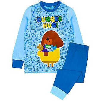Hey Duggee Hug Boys Blue Long Pyjamas