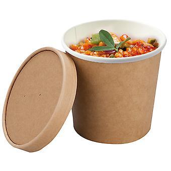 ColPac Compostable Large Soup Cups 26oz