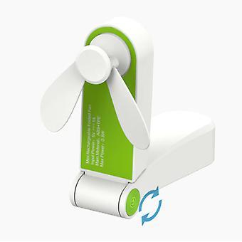 Tavarasertifioitu® C28 ladattava kannettava tuuletin - Akun käsituuletin vihreä