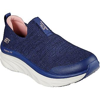 Skechers Womens D'Lux Walk Quick Air Cooled Slip On Trainers