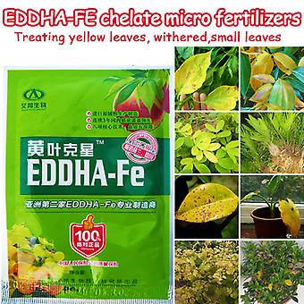 Treating Yellow Leaves Withered Plant Supplement Iron Nutrition Eddha Fe