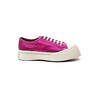 Marni Snzw003020p376500c53 Naiset's Purple Nahka Lenkkarit