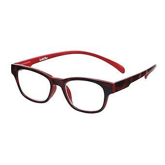 قراءة نظارات Unisex Wayline-القرد havanna قوة حمراء +3.00 (le-0167E)