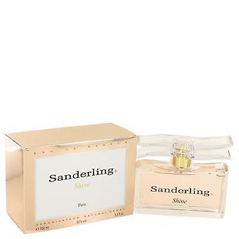 Sanderling shine eau de parfum spray by yves de sistelle 502760 100 ml