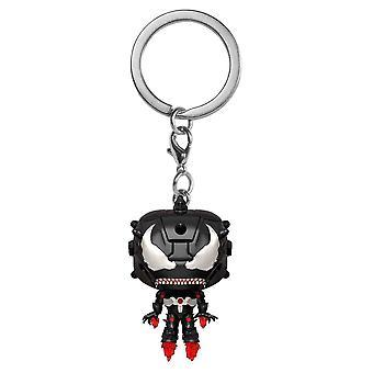 Venom Venomized Iron Man Pocket Pop! Keychain