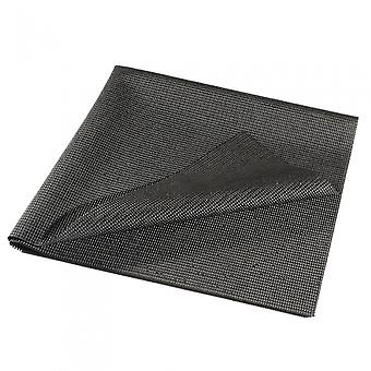 coffre de tapis antidérapant HP2709 90 x 100 cm noir