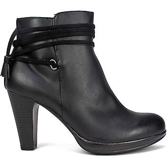 Rialto Women's Shoes PENNICOTT Leather Closed Toe Ankle Fashion Boots