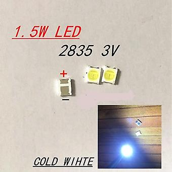 200pcs For Led Backlight -high Power Led 1.5w 3v 1210 3528 2835 131lm