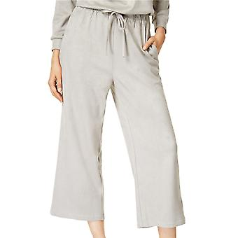 Mink Pink | Cropped Faux-Suede Soft Pants