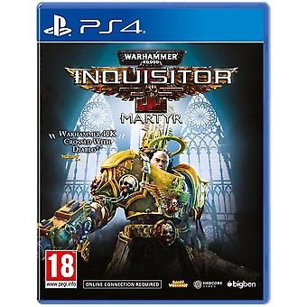 Warhammer 40000 Inquisitor Martyr PS4 Game