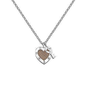 Hot diamanter Lås i kjærlighet perle anheng DP663