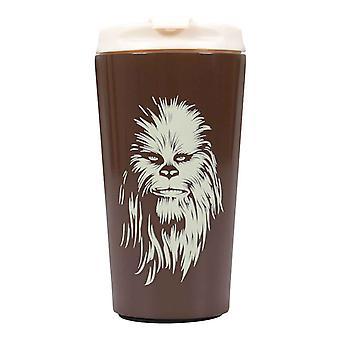 Star Wars Travel Mug Chewbacca new Official Brown Metal