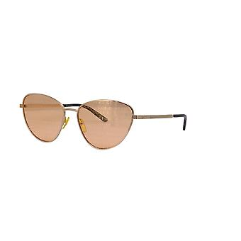 غوتشي GG0803S 004 الذهب / البرتقال النظارات الشمسية