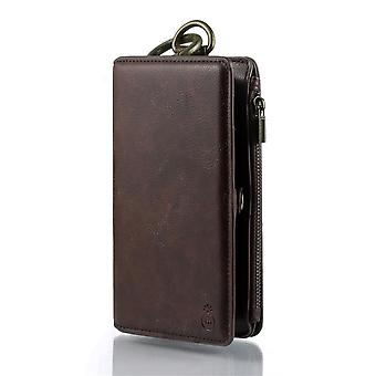 Leather Case for Samsung Galaxy Note 8 Brown moshubao-16