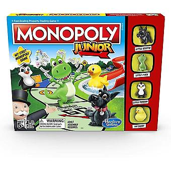 Hasbro gaming monopoly junior game for aged 5-8 years old-multicolor