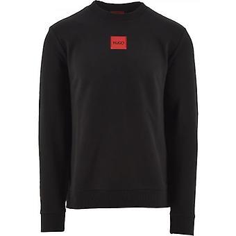 HUGO Black Diragol Sweatshirt