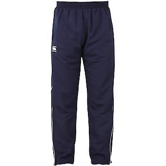 Canterbury Mens Team Zip Leg Tracksuit Pants / Bottoms