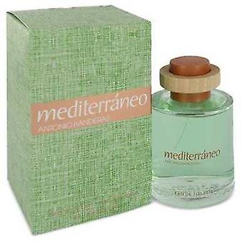 Mediterraneo By Antonio Banderas Eau De Toilette Spray 3.4 Oz (men) V728-499007