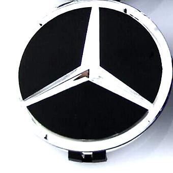 Black/Silver Mercedes Benz Wheel Center Cap Hub Badge 60mm 1 PCS For W202 W203 W204 W208 W210 W220 W221