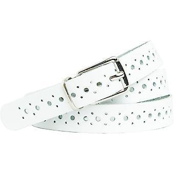 Genuine leather belt total length 115cm