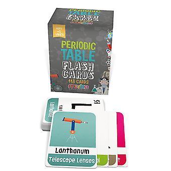Merka koulutus flash-kortit lasten flash-kortit jaksollinen taulukko tieteellisiä elementtejä kemia
