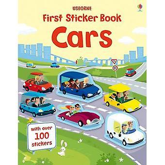 Premier livre d'autocollants Voitures Premiers livres d'autocollants 1 Première série de livres d'autocollants
