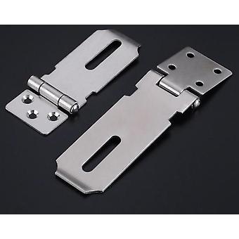 باب هاسب أقفال، الفولاذ المقاوم للصدأ قفل