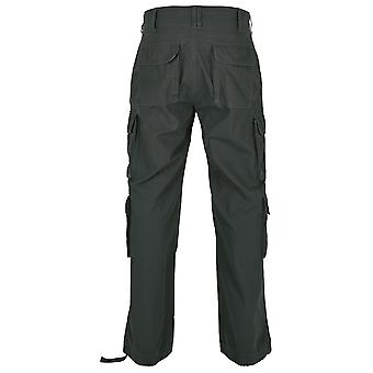 Build Your Brand Mens Pure Vintage Cargo Trousers