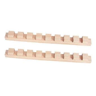 Building Blocks Toy For - Wooden Domino Institution Accessories