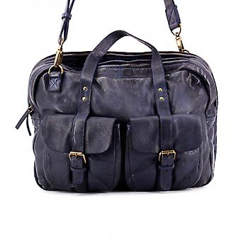 The Patron - Navy - Wash Leather
