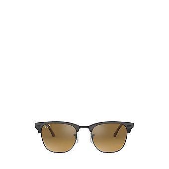راي بان RB3016 أعلى رمادي على النظارات الشمسية للجنسين هافانا