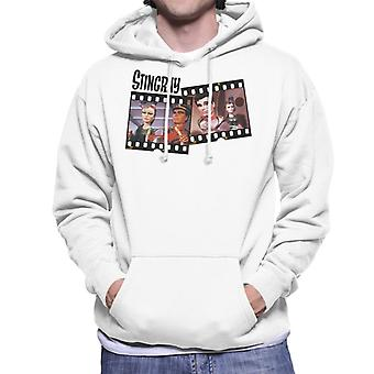 Stingray Marina And Troy Tempest Film Roll Men's Hooded Sweatshirt