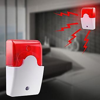 Wired Durable Sound Alarm - Blinklicht Strobe Sirene