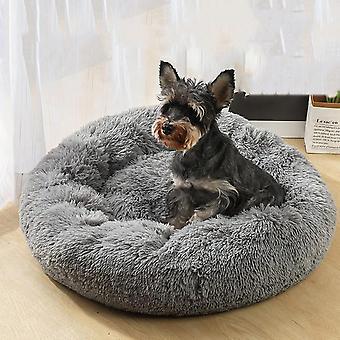 Hund Bett Runde Plüsch