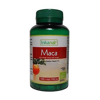 Organic Red Maca 100 capsules of 500mg