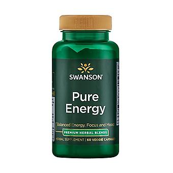 Pure Energy 60 vegetable capsules