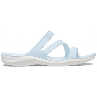Crocs 203998 Swiftwater Sandal Ladies Sandals Mineral Blue