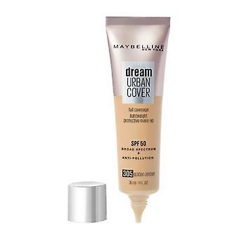 Liquid Make Up Base Maybelline Dream Urban Cover (30 ml)/Golden Amber