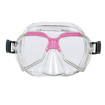 BECO Swimming Mask & Snorkel Set - Pink - for children 4+ years