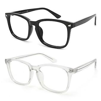 Sininen valo estävä tietokone lasit 2 pakkaus vähentää silmä silmätikku
