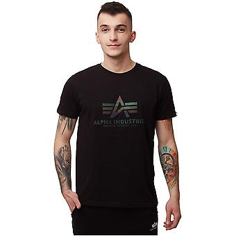 Alpha Industries Basic Rainbow Ref 100501RR03 universal miesten t-paita