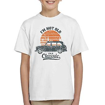 London Taxi Company TX4 Im Not Old Im A Classic Kid's T-Shirt